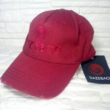 DAZEBAO HATS MADE IN ITALY baseball cap 100% cotton bordeaux RP € 39