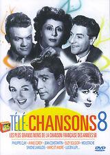 Télé-Chansons 8 : les grands noms de la chanson française des années 50 (DVD)