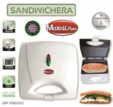 SANDWICHERA ELECTRICA 750W Panel Grill Panini ANTIADHERENTE 2 Sandwich o 1 pan