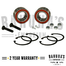 x2 FRONT WHEEL BEARING FOR SEAT CORDOBA MK1, IBIZA MK2/3, INCA, TOLEDO MK1 NEW