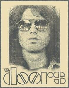 The Doors - Jim Morrison - Musiker Plakat USA Metall Schild
