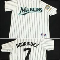 Ivan Pudge Rodriguez Florida Miami Marlins 2003 World Series Pinstripe Jersey