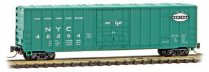 Micro-Trains MTL Z-Scale 50ft Plug Door Box Car New York Central/NYC #48264