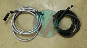 96-00 Civic 4dr Sedan Replacement Stainless Steel Fuel Feed Line & Rubber Return