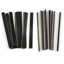 20PCS 2.54mm Breakaway PCB Board 40Pin Male and Female Header Connector for Ardu