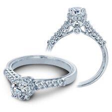 BRAND NEW Verragio V-916-RD6 14K White Gold with Diamonds Engagement Ring