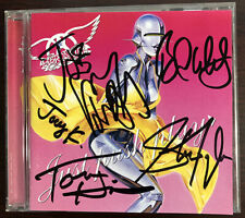 Aerosmith Just Push Play CD Signed Autographed