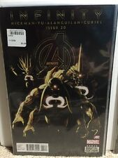 Avengers #20 Hickman Yu Infinity Comic Book