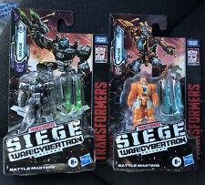 Transformers SINGE & RUNG Siege War for Cybertron Battle Masters Figure Lot