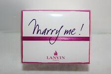 LANVIN MARRY ME EAU DE PARFUM 75 ML FEMME NEUF SOUS BLISTER