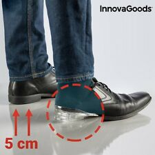 Silikon Schuheinlagen Vergrößerung Körpergröße bis 5 cm Fusskissen Einlegesohlen