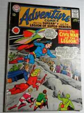 Adventure Comics 333 June 1965 Legion Of Super Heroes Legion Civil War G/Vg 3.0