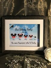 Our Disney Family Picture Frame
