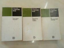 Franco Venturi,Il Populismo Russo.Einaudi,1977-79-3voll.