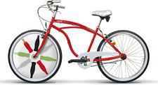 """Bicicletta Coca Cola Cruiser Uomo GCX1U26000 26"""" 1V Acciaio Girardengo- NUOVA"""