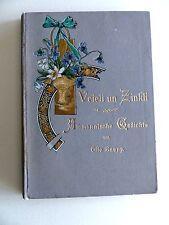 Alemannische Gedichte Otto Raupp Veieli un Zinkli Denzlingen Baden 1902