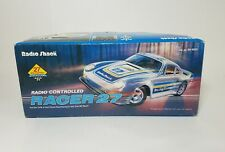 Vintage 80s Radio Shack White Racer 27 RC Car, Tested & Working, 60-4032