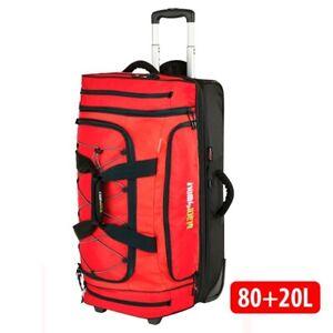 Blackwolf 1410 CHILLI NEW Bladerunner 80+20L Wheeled Duffel/Duffle Bag