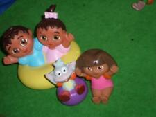 Dora Figures Brother Sister Pool Bath Toys LOT