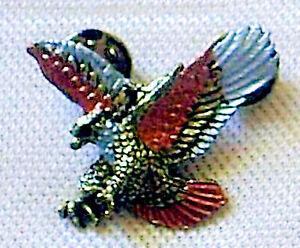 Anstecker flying Eagle klein Nieten Pin Weißkopfseeadler Seeadler