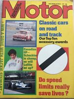 Motor Magazine - 6 October 1979 - Scirocco GLi, Horizon 1.3, Jackie Stewart