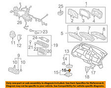 HONDA OEM 06-11 Civic Dash Instrument Panel-Light Bulb 35871SDAL01