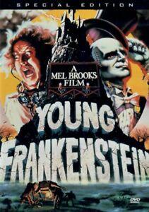 Young Frankenstein (DVD, 1998) DISC + ART *NO CASE* NEAR MINT
