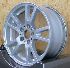 1x BMW X3 e83 8x17 et46 nr1 Doppelspeiche styling 148 Alufelge 5x120 72 3412060