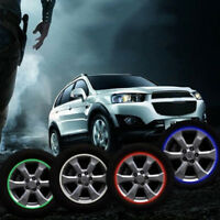 "Motorcycle car wheel rim 16 reflective strips 14"" stripe tape decal stickers VU"