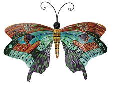 Solar Schmetterling Wanddekoration Balkon Tiere Terrasse Garten Tiere Metall