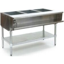 Eagle Group Awt4-Ng, 63.5 inch 4-Well Water Bath Gas Steam Table