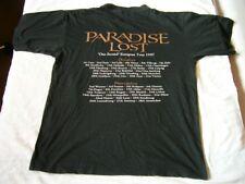 PARADISE LOST – very rare original 1997 ONE SECOND – EUROPEAN TOUR T-Shirt!!