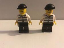 LEGO CITY THIEF /CROOK /ROBBER MINIFIGURE BUNDLE - VERY FAST FREE UK POSTAGE