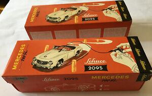 2095 SCHUCO MERCEDES 190SL Clockwork Remote Control Car (Vintage Car)