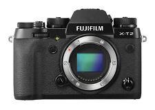 Fujifilm X-T2 Systemkamera Gehäuse- schwarz, Vertical Power Booster Grip VPB-XT2