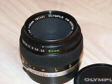 OLYMPUS OM ZUIKO 50mm F3.5 MACRO LENS LATER MC VERSION
