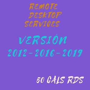 -+Remote Desktop services® 50 Cala RDS Windows server
