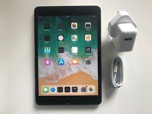 Apple IPAD Mini 3 128GB, Wi-Fi + Cellulaire (Débloqué), 7.9in - Espace Gris