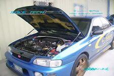 Black Strut Lift Bonnet Shock Hood Damper Kit for Subaru Impreza GC GF GC7 GC8