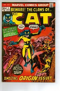 The Cat # 1 - FN/VF 7.0 - 1972 1st Appearance of Cat (Tigra)