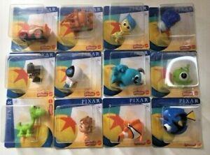 Disney Pixar Minis 2.5cm Mini Figures, Monsters Inc, Wall-e, Inside Out, Nemo