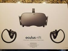 Oculus rift with Headset, 2 controllers and 2 sensors