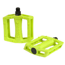 """TSC The Shadow Conspiracy Ravager Pedal 9/16"""" BMX Electric Lime"""