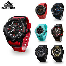 Men's Sport Army Military Alarm Calendar Dual 30M Waterproof Digital Wrist Watch