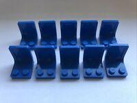 Lego 10 x Seats / Chairs - 4079 Blue Bundle Joblot Minifigure Utensil
