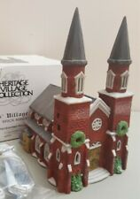 New ListingDept 56 Dickens Village Series Lighted House 1987 Brick Abbey 65498 Retired 1989