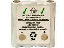 4.8 Volt Cobra Replacement 350 mAh NiCd Microtalk Radio Battery (FRS/GMRS)