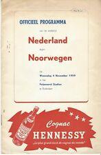 Nederland-Noorwegen/Norge 1959-1960