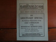 "The Gathering Call pamphlet, Seventh-Day Adventist, ""The Sanctuary Special"" 1937"