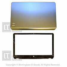 HP Pavilion M6 M6-1000 Rear Cover Lid Silver and Bezel 686897-001 SET
